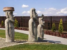 Wyspa Wielkanocna - megality