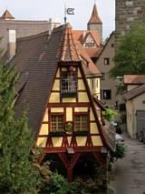Kamienica w Rothenburgu