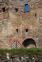 Mury zamku Siewierz