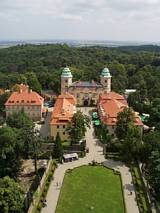 Zamek Książ - widok z wieży