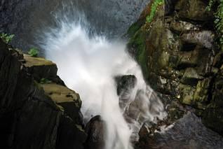Wodospad Wilczki - inaczej