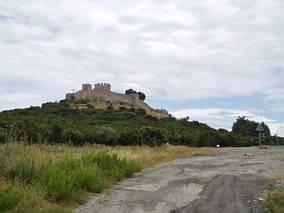 Ruiny zamku w Platamonas