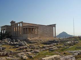 Na wzgórzu Akropolu