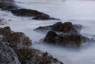 Kamienie nad morzem