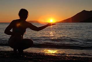 Zatoka Zuliana - zachód słońca