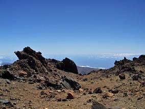 Zbocza wulkanu Teide