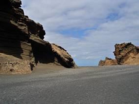 Plaże i skały Lanzarote