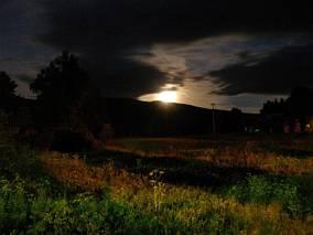 Babia Góra nocą