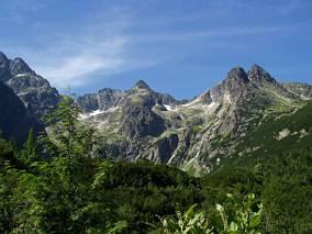 Otoczenie doliny Kieżmarskiej