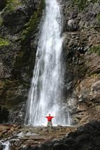 Sutovski wodospad - prawie w całości