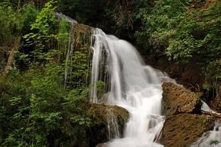 Piękny wodospad na Słowacji