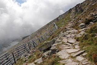 Szlak na szczyt Velka Lomnicka Veza (2214)
