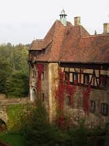 Jesień na zamku Czocha