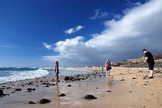 Plaża w rejonie Piedras Caidas