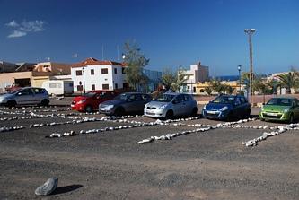 Ajuy - parking