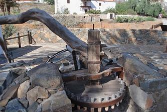 Betancuria - jakaś stara maszyna