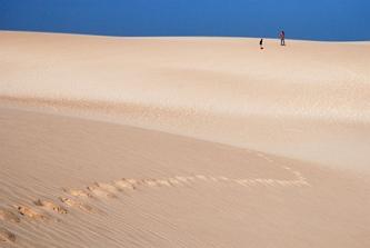 Jak na pustyni...
