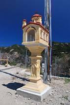 Kapliczka w Paleokastritsa