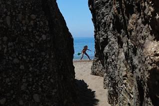 Na plaży w Agios Gordios