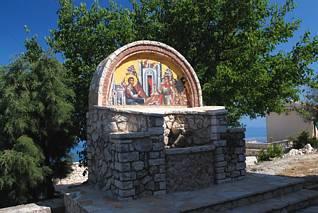 Pantokrator - przy klasztorze