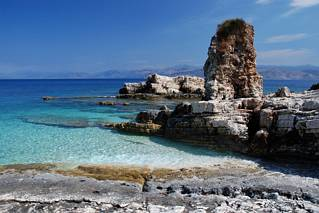 Kassiopi - skalna kolumna
