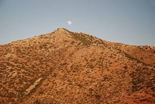 Księżyc nad Kouloukonas