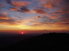 Babia Góra - wschód słońca
