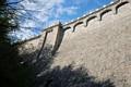 Ściana zapory w Pilchowicach